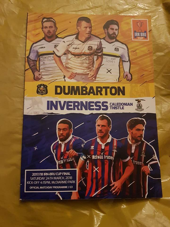 Dumbarton vs Inverness – Challenge Cup Final